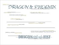 RPG Item: Dragon & Phoenix