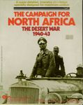 Board Game: The Campaign for North Africa: The Desert War 1940-43