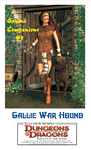 RPG Item: Canine Companions #1: Gallic War Hound