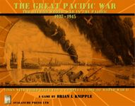 Board Game: The Great Pacific War: The Second World War in the Pacific 1937 - 1945