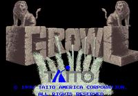 Video Game: Growl