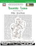 RPG Item: Bardic Lore: The Fachan