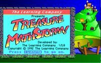 Video Game: Treasure Mathstorm!