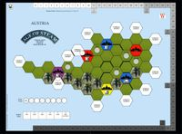Board Game: Age of Steam Expansion: Austria & India