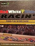 Board Game: Red White & Blue Racin' Stock Car Action Game