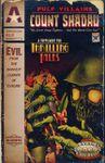 RPG Item: Pulp Villains: Count Shadau