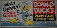 Board Game: Donald Duck's Party Game for Young Folks