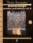RPG Item: Battlemaps: Corridors and Hallways Vol. II