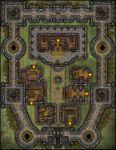 RPG Item: VTT Map Set 210: Castle Stronghold