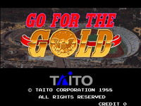 Video Game: Go For The Gold