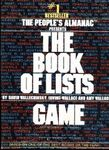 Board Game: Book of Lists Game