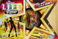 Board Game: The Game of Life: Fame Edition