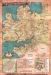RPG Item: The Eleven Kingdoms Poster Map