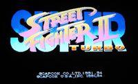 Video Game: Super Street Fighter II