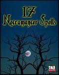 RPG Item: 17 Necromancer Spells
