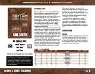 RPG Item: Blood & Guts: Soldiers