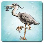 Board Game: Fish'n'Stones: Heron