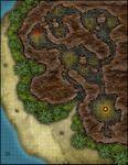 RPG Item: VTT Map Set 198: Pirate's Cove