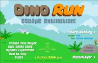 Video Game: Dino Run