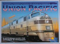 Board Game: Union Pacific