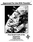 RPG Item: Five Small Craft of the Imperium
