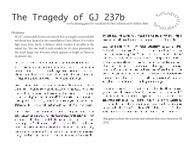RPG Item: The Tragedy of GJ 237b