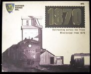 Board Game: 1870: Railroading across the Trans Mississippi from 1870