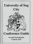 RPG Item: University of Sog City Conference Guide: Seventh Ecclesiastical Council, 1625