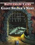 RPG Item: Battlemaps Lairs: Giant Spider's Nest