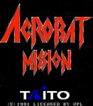 Video Game: Acrobat Mission