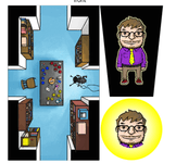 Board Game Accessory: Rumble in the House/Dungeon: Dice Tower 2014 promo