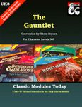 RPG Item: Classic Modules Today UK3: The Gauntlet