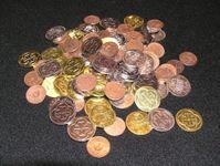 Board Game Accessory: Libertalia: Metal Doubloons