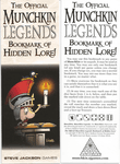 Board Game: Munchkin Promotional Bookmarks