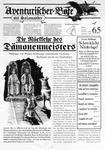 Issue: Aventurischer Bote (Issue 65 - Sep/Okt 1996)