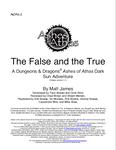 RPG Item: AOA1-2: The False and the True