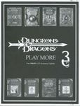 RPG Item: Play More: Free D&D v.3.5 Accessory Update