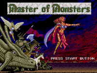 Video Game: Master of Monsters