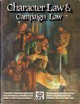 RPG Item: Character Law & Campaign Law (2nd Edition)