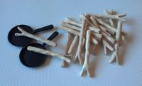 Board Game Accessory: Morels: Handcrafted Bits