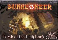 Board Game: Dungeoneer: Tomb of the Lich Lord