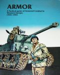 Board Game: Armor: A Tactical Game of Armored Combat in Western Europe, 1944-1945