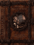 RPG Item: Liber Fanatica Volume IX: Perils of the Empire