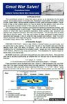 Board Game: Great War Salvo!: Solitaire Tactical World War I Naval Game