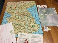 Board Game: Hunters over Korea: A Solitaire Game of Air Combat over Korea (1950-1953)
