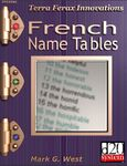 RPG Item: French Name Tables
