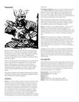 RPG Item: Classes of Fantasy: Samurai