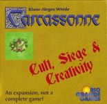 Board Game: Carcassonne: Cult, Siege and Creativity