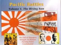 Board Game: Pacific Battles: Volume 1, The Rising Sun