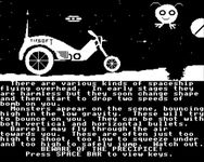 Video Game: BMX on the Moon
